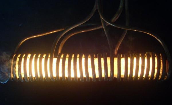 铝棒感应加热设备加热